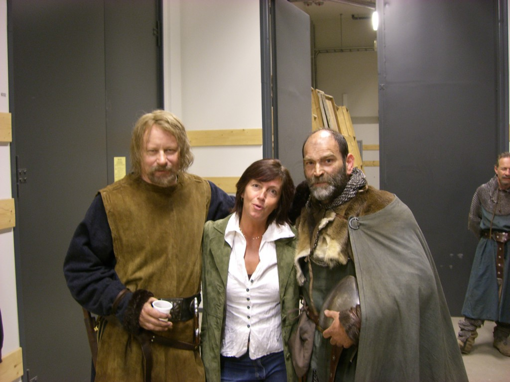 Stellan, Anja, Johan.
