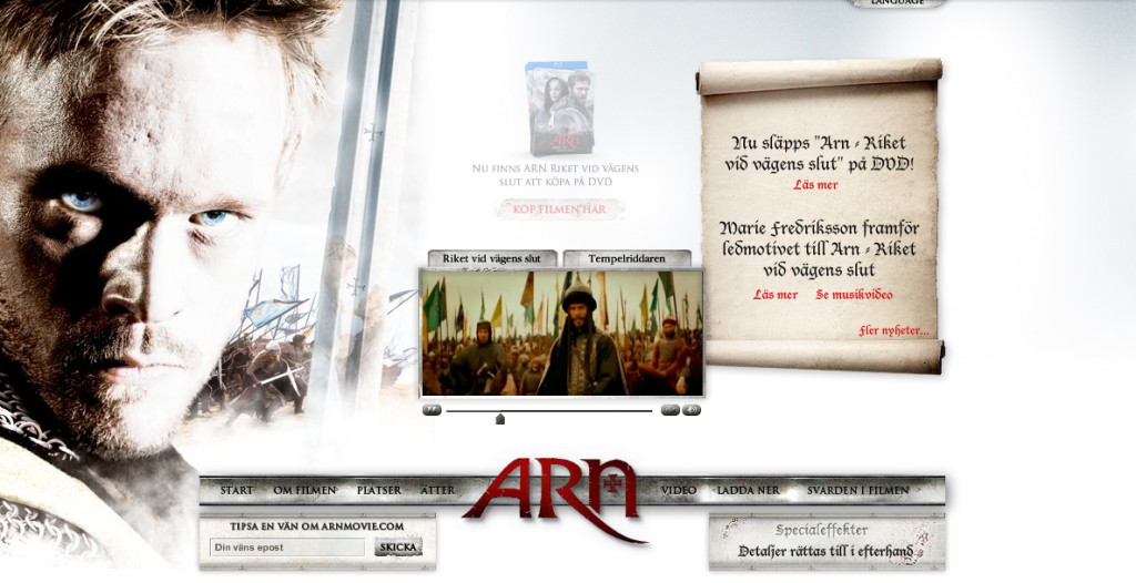 Arn the movie